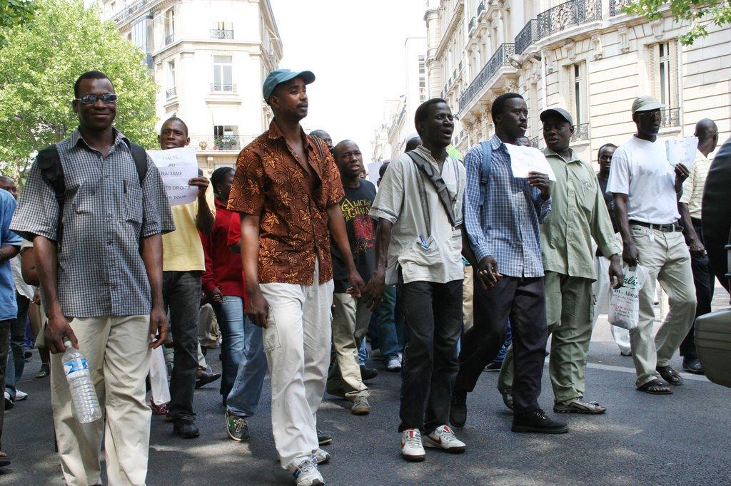 marche contre le racisme