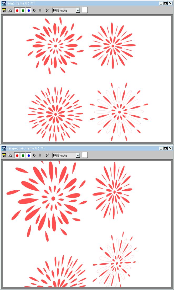 불꽃놀이(Fireworks; Hanabi) 일러스트레이션