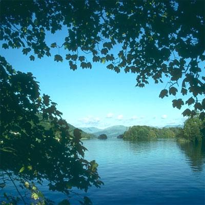 포토샵 사진 합성: 원본 호수 사진