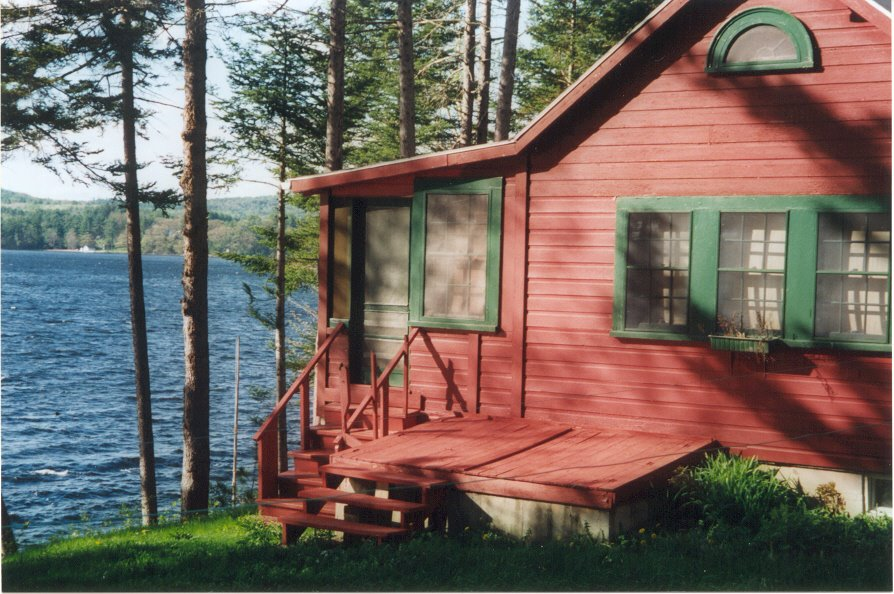 Awesome Vacation Rentals In Maine Damariscotta Lake Cottages With Download Free Architecture Designs Scobabritishbridgeorg