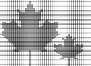 Knitting Pattern For A Maple Leaf : 2006 Knitting Olympics: Team Hooker: Olympic Charts