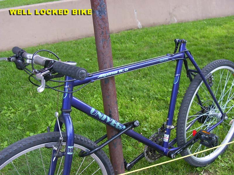 Free advice on how to fix your bicycle how to prevent bicycle theft - How to keep thieves away from your home ...