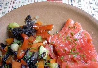 sashimi salm