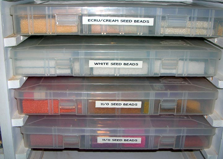 Bead Storage For Snowbirding