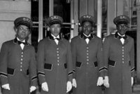 Bellhops at the Tutwiler Hotel