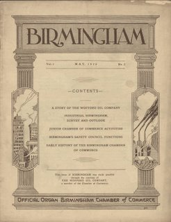 Birmingham Chamber of Commerce May 1925