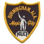 Birmingham Police patch