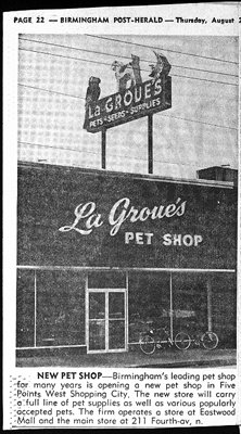 Pet shop at Five Points West