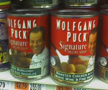 Hostile aliens lurk in the soup aisle. Good thing I'm always prepared.