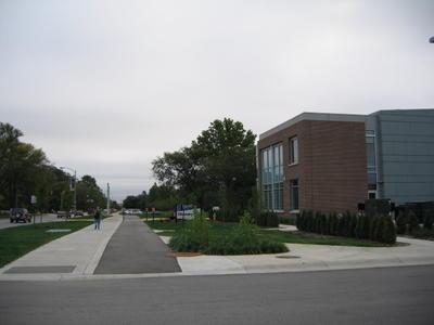 State Street Bike Path - Burton Morgan Center