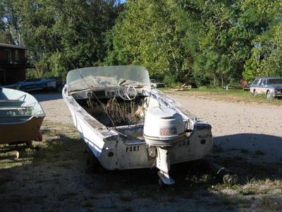 'Port Lou Motorboat - Burnham's - West Lafayette
