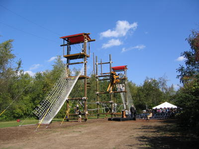 Purdue High Ropes Course
