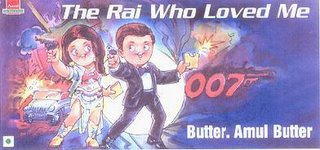 leading bollywood star likely to be selected for the next Bond film - April 2003