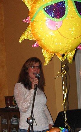 Haley singing