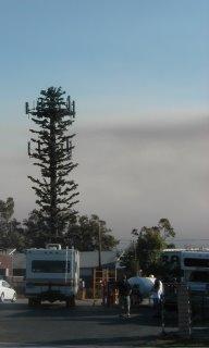 smoke from Esperanza fire