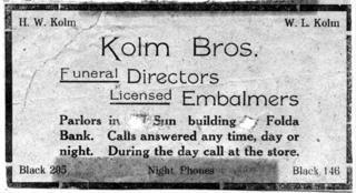 Kolm Brothers Ad