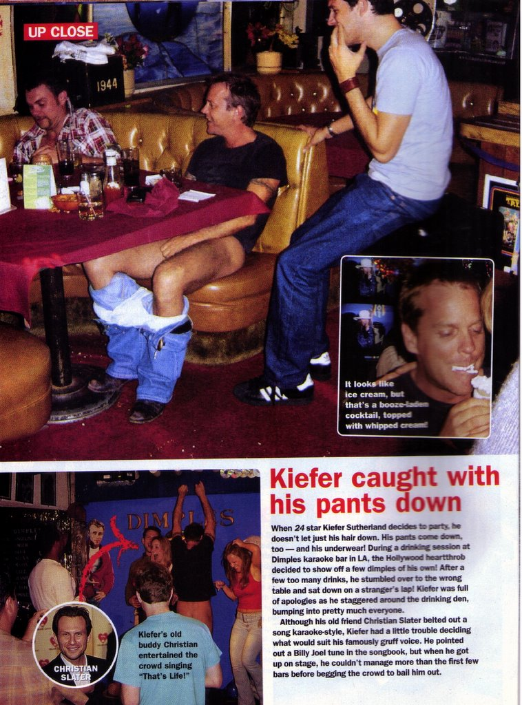 Beccaning Call: January: Your month in Kiefer Sutherland news