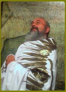 Guru Ji Oxil Pali Ur. con su manto