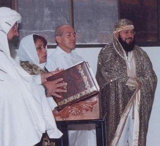 El Guru Ji en su consagracion Sacerdotal Esenio-Sufi