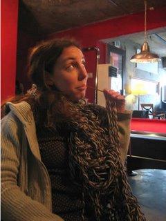 Jo's scarf