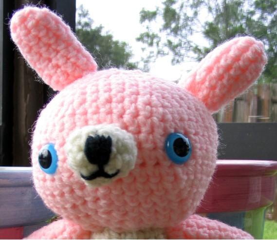 Amigurumi Bunny Face : Amigurumi-Along: My first Japanese pattern!