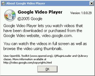 Google Video Player