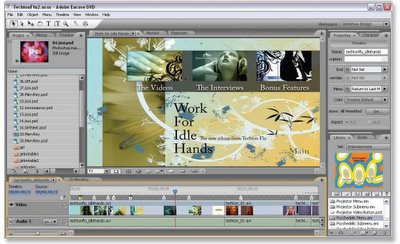 Adobe Encore DVD 2.0 Screenshot