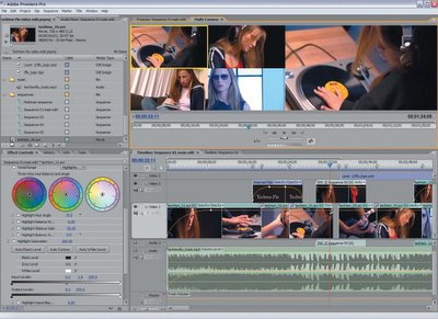 Adobe Premiere Pro 2.0 Screenshot