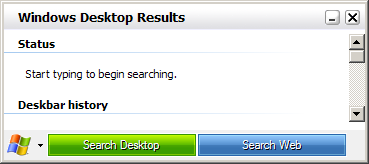 Windows Vista Search