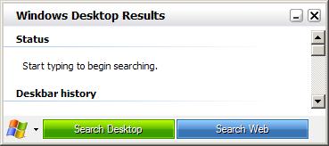 Windows Vista Search