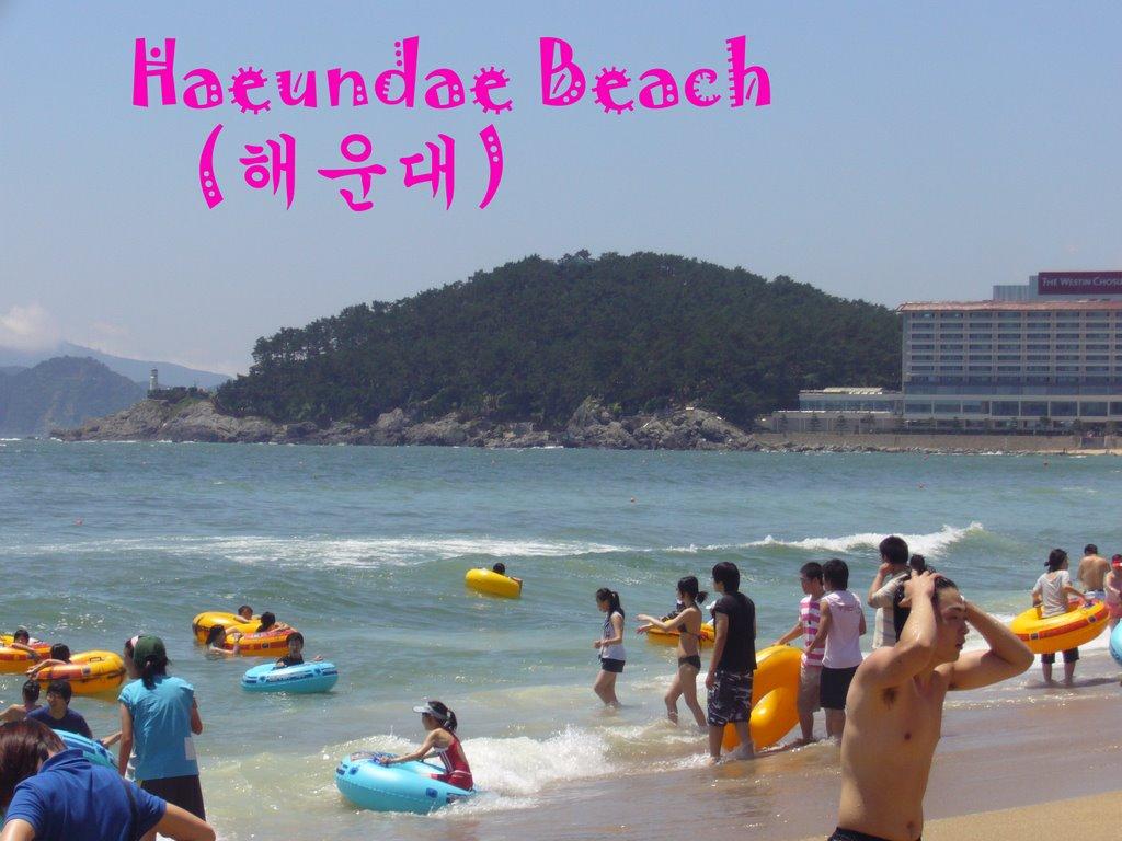 Nude beach in korea