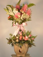 Topiary Flower Arrangements