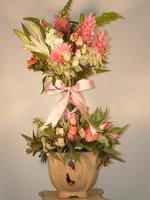 Topiary Flower Arrangements