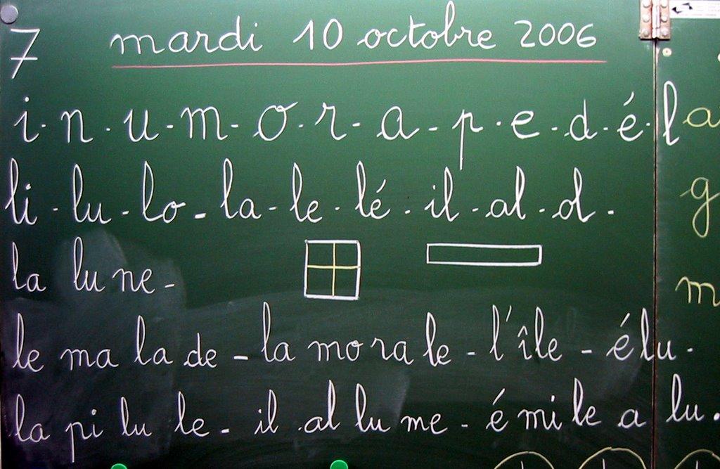 2006 2007 journal de classe cours pr paratoire octobre 2006 - Ecrire sur un tableau noir ...