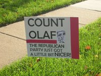 Count Olaf Sign 1