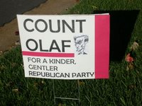 Count Olaf Sign 2