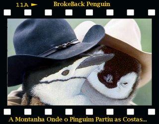 Brokeback Penguin