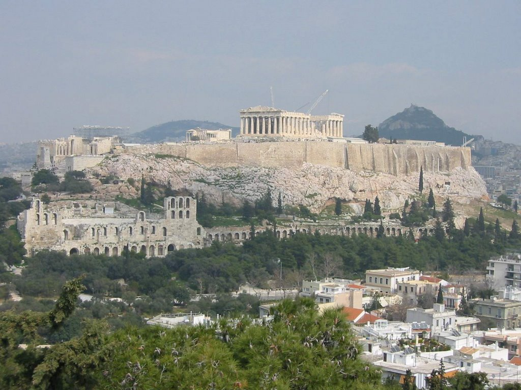 Art and Archaeology: The Acropolis. Athens, Greece.