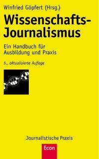 Winfried Göpfert: Wissenschafts-Journalismus (Buch-Cover)