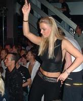 Disco Dancing Club Girl Exposes A Nipple In Public