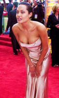 Celebrity Angelina Jolie Nipple Slip On The Red Carpet