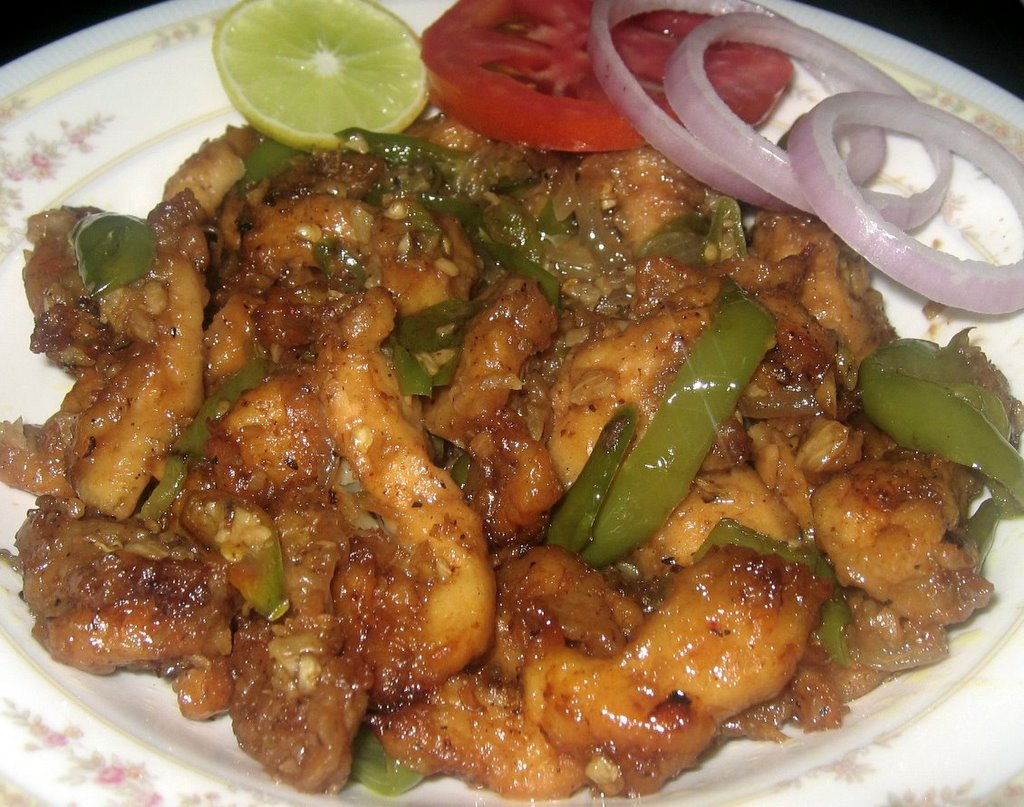 Recipes for chilli chicken with gravy