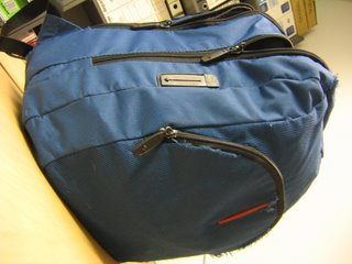 my backpack, its blue