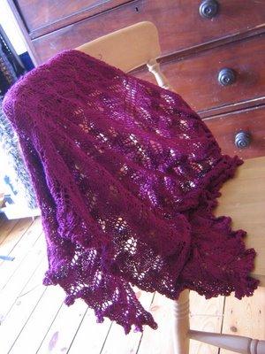 kiri lace shawl