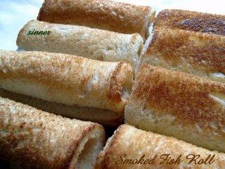 smoked fish rolls