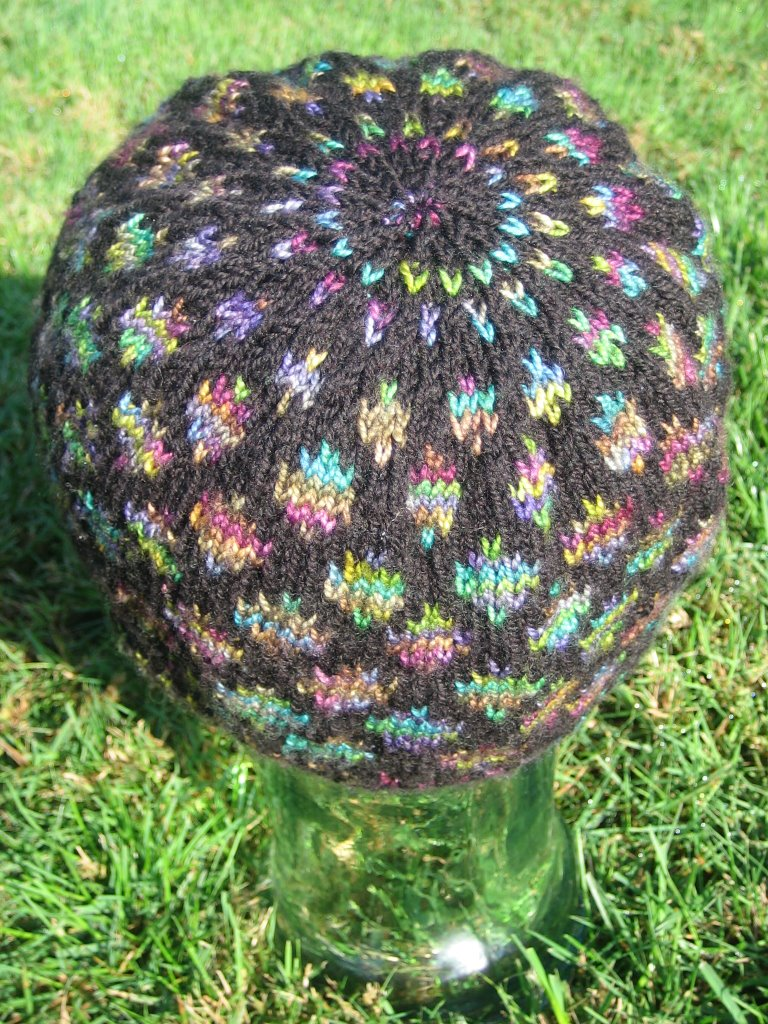 Omly Crafts Fo Stained Glass Doubleknit Hat