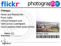 Chirayu's Flickr Photographer Badge