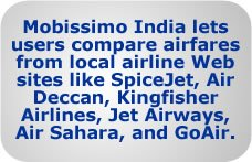 Mobissimo India searches domestic low-cost airlines