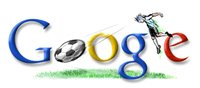 Google Argentina football world cup 2006 logo