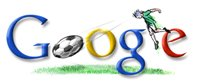 Google Mexico football world cup 2006 logo